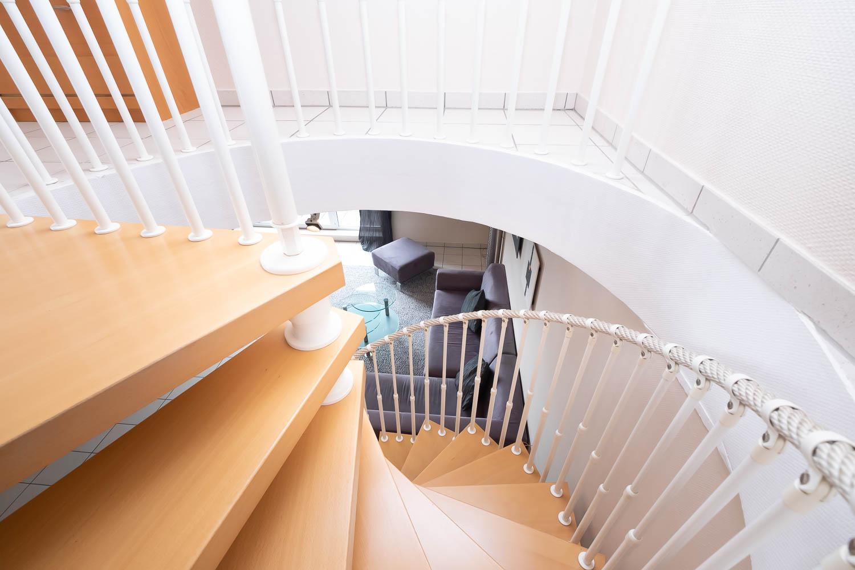 Sivani-Boxall-Germany-winding-stairs